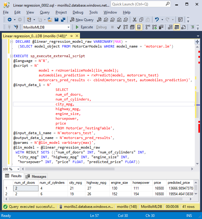 SQLCoffee - Predicting the Price of Used Cars using Azure SQL ML