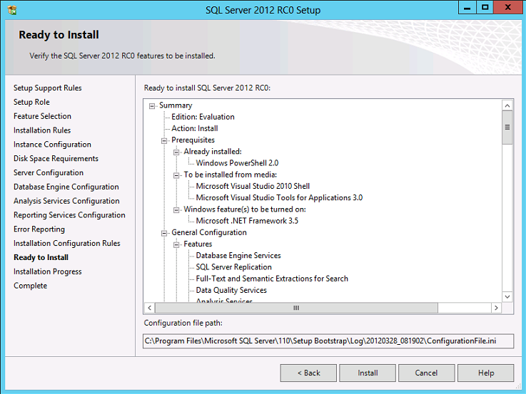 SQLCoffee - How to install SQL Server 2012