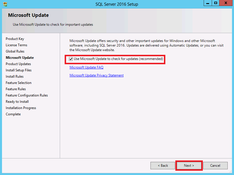 Updating sql server from access